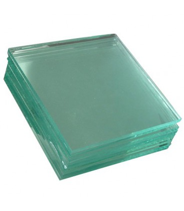 Glass plate 2mm - 9x12 cm