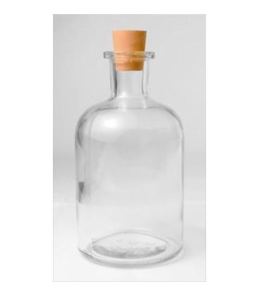 Skleněná lahev s gumovou zátkou 250ml