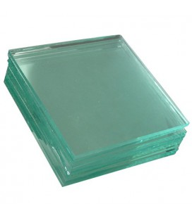 Clear glass plate 2mm 1000x1000 mm