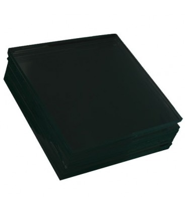 Black glass plate 800x1000 mm
