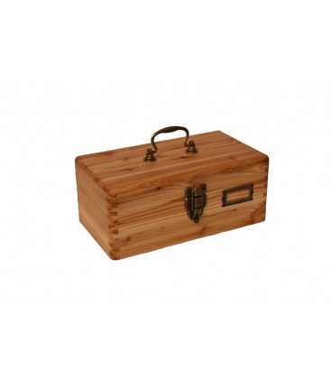 Travel wooden box