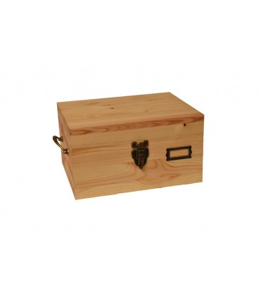 Wooden travel box