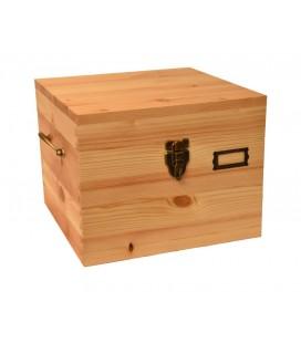 Cestovní dřevěný box 8x10
