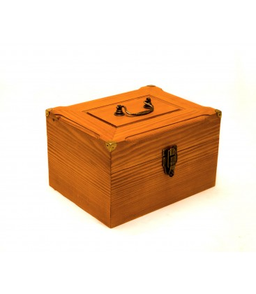 Original travel wooden box 5x7