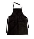 Working apron for work in laboratory