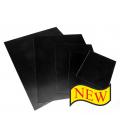 Aluminum Shiny Black Plates  13x18 / 5x7