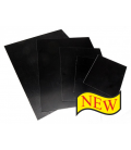 Aluminum Shiny Black Plates  9x12