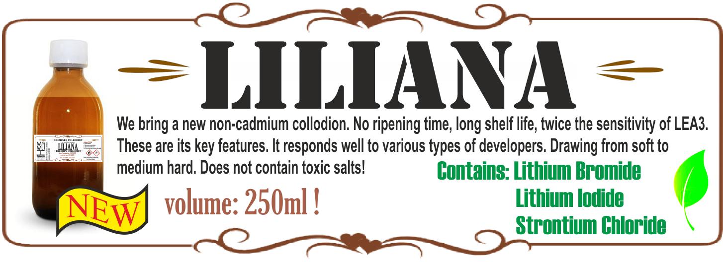 Nové kolodium LILIANA