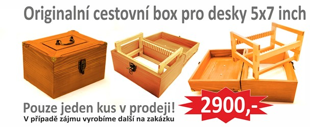 Originální cestovní box 5x7