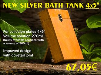 NEW SILVER BATH TANK 45